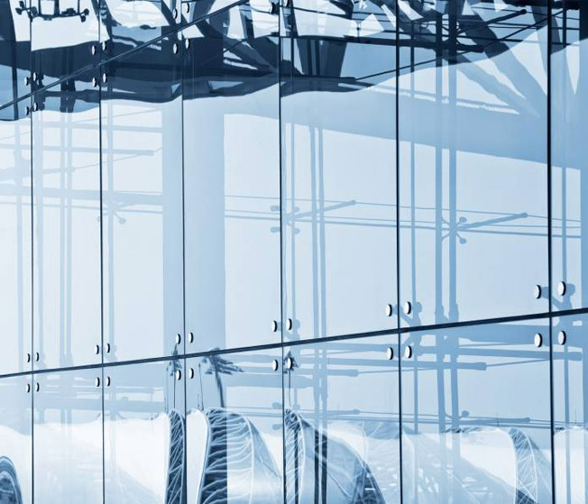 Конструкция систем витражного остекления фасадов - изготовление и монтаж
