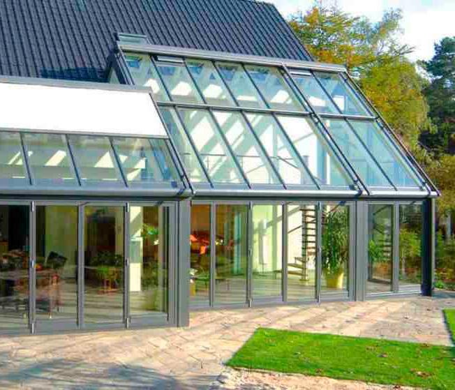 Зимние сады - проектирование и монтаж