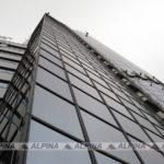 Мойка фасада: Северная Башня, ММДЦ Москва-Сити