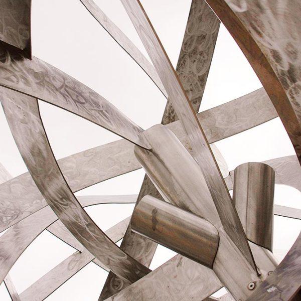 Производство и монтаж «световых деревьев» из нержавеющей стали