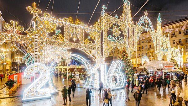 Новогоднее оформление города