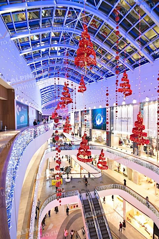 Сезонное оформление торговых центров