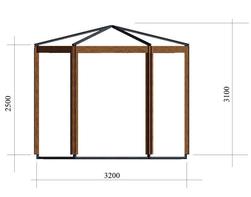 Разработка концепции торгового павильона