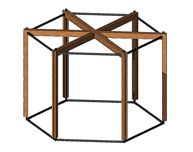Разработка конструкции торгового павильона