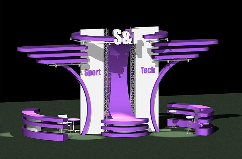 Разработка дизайна выставочного оборудования