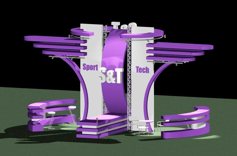 Разработка дизайна выставочных стендов и выставочного оборудования