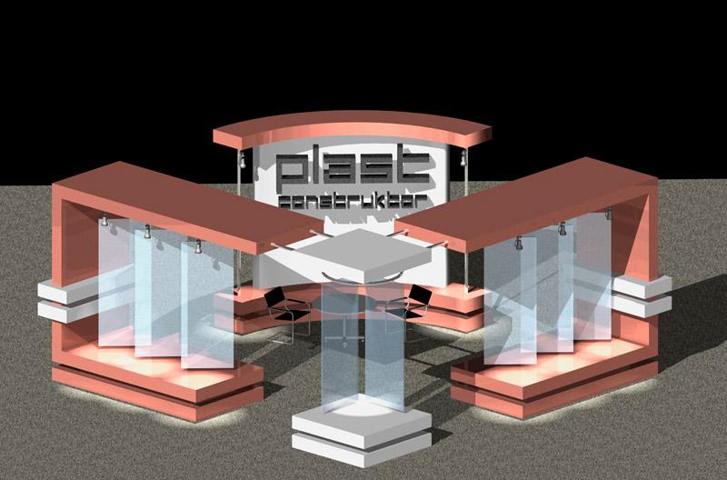 Разработка дизайна выставочных стендов