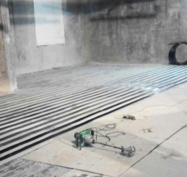 Работа по усилению углеродными ламелями