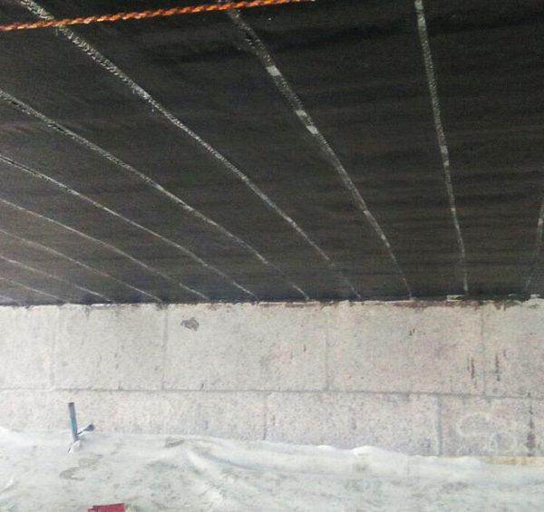 Наши специалисты выполнили работы по усилению моста в Санкт-Петербурге с помощью композитных материалов на основе углеродного волокна