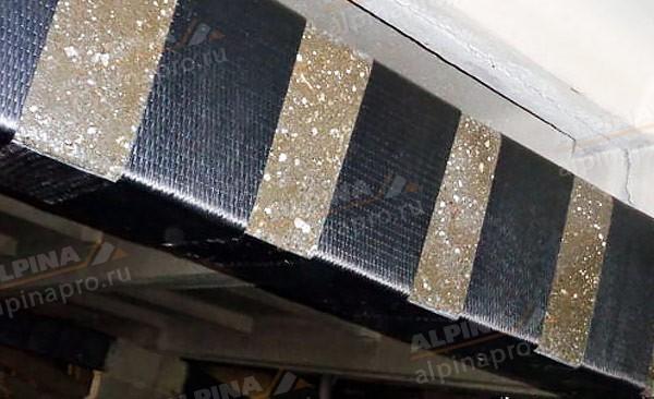 Усиление и ремонт конструкций с помощью композитных материалов на основе углеродного волокна