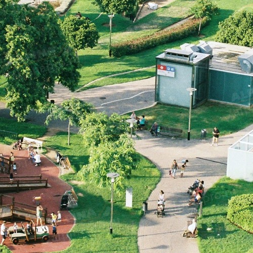 Благоустройство парков и территорий
