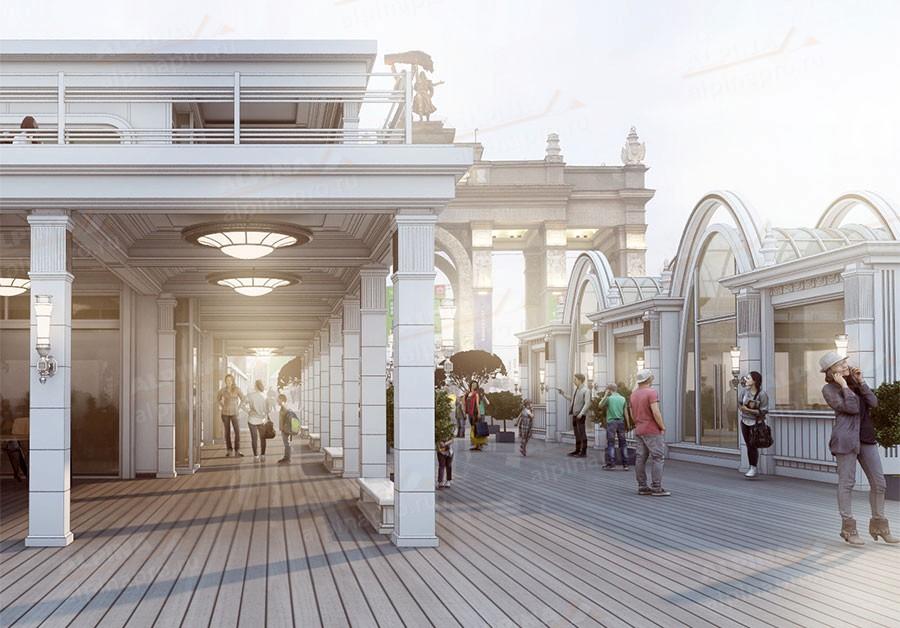 Строительство павильонов и магазинов