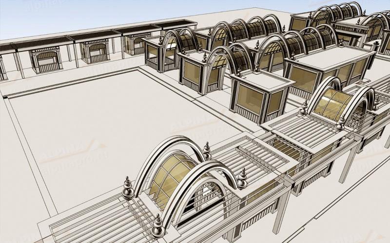 План проекта по оформлению павильонов на ВДНХ